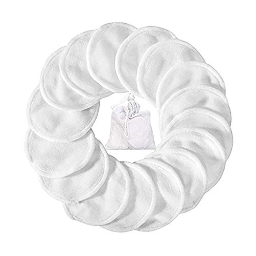 Taottao - Almohadillas algodón quitar maquillaje