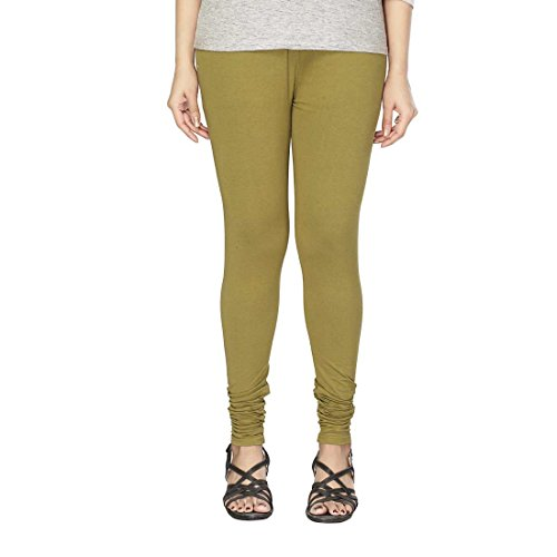 Minu Olive Green womens leggings