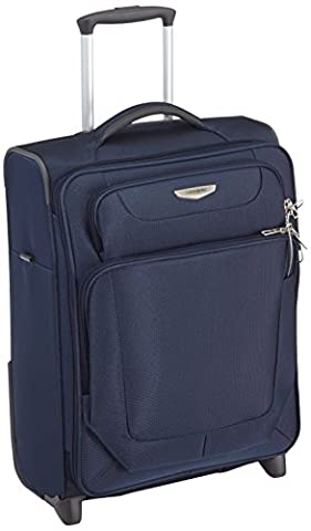 Samsonite Spark Upright 55/20 Exp Koffer, 55cm, 49 L, Dark Blue
