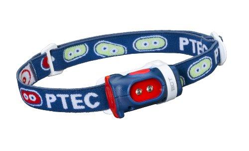 Princeton Mädchen-Stirnlampe Tec Bot, Weiße LEDs Blue/Red