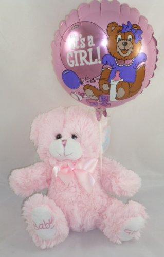 Les Pattes de Bébé - la Fille de Bébé Teddy Avec Son un Ballon de Fille (K76) GSET [le Jouet]