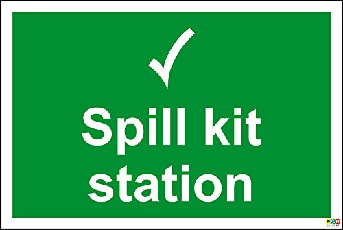 Spill-station Kit (Schild mit der Aufschrift