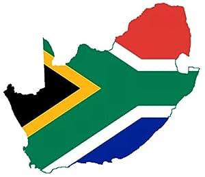 """autocollant pour voiture """" Afrique du Sud """" Car Sticker Southafrica (env. 11x11 cm)"""