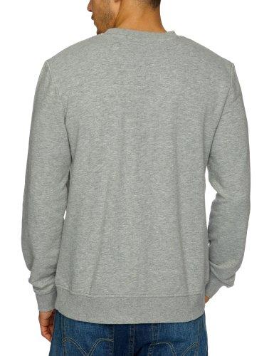 edc by ESPRIT - Sweat-shirt - Homme Gris (Medium Grey Melange)