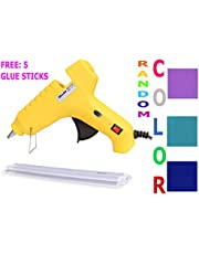 60W 60 WATT HOT MELT Glue Gun with Free 5 Glue Sticks