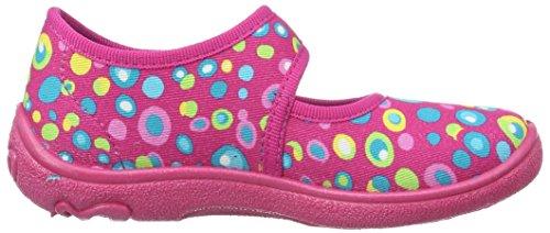 Superfit Belinda, chaussons d'intérieur fille Pink (pink Kombi)