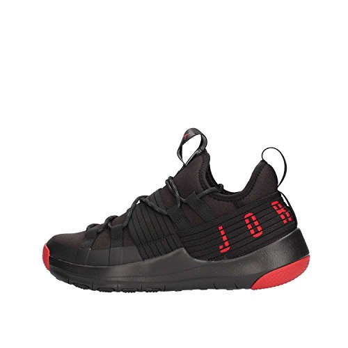 Nike Herren Jordan Trainer Pro Basketballschuhe, Schwarz (Black Gym Red Gym Red 001), 45.5 EU