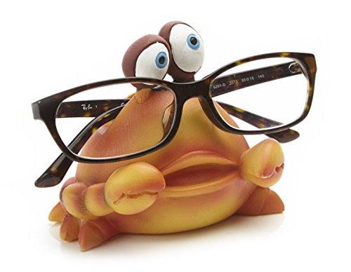 by-Bers Brillenhalter Karibik, Design Krabbe, handbemalt, aus Polyresin