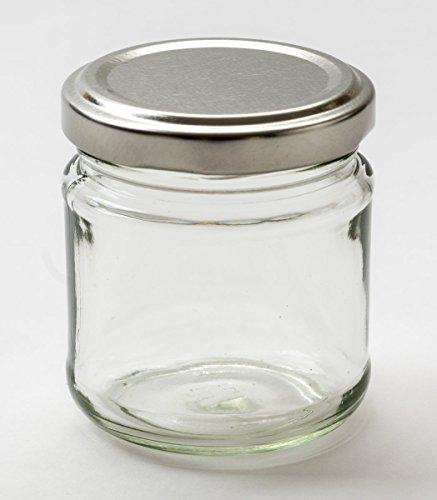 Nutley 's 100ml kleinen Glas Marmeladenglas (Pack von 6)