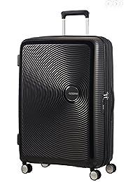AMERICAN TOURISTER Soundbox - Spinner 77/28 Expandable Equipaje de mano, 77 cm, 97 liters, Negro (Bass Black)