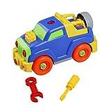Montage Spielzeug Baufahrzeuge Spiel DIY Gebäude Spielzeug Für Jungen Kinder ab 3 Jahre Alt (Style C)