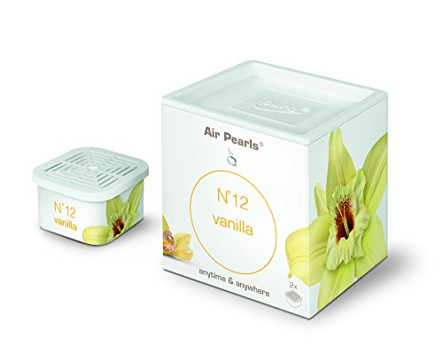 ipuro air pearls no. 12 vanilla capsule, 1 Box (2 x Kapseln) - Zitrus-air