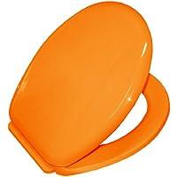 Bisk 02715 YUCCA Abattant en Polypropylene, Orange