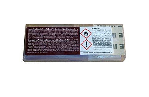 PVC & PU REPARATUR SET XXL, Flickzeug für Schlauchboot Zelt Pool Gewebe Planen Markise Isomatte Luftmatratze Vinyl PVC PU (Polyurethan) -