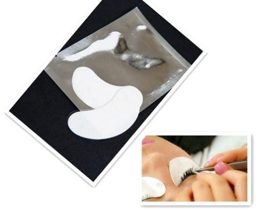 Dermastil Wimpernverlängerung, 25-Paar-Augenpads-Wimpernverlaengerung-Augen-Gel-Pads-Lint-Free-Eye-Gel-Patch