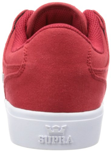 Supra VAIDER LC S86009 Herren Sneaker Rot (ATHLECTIC RED - WHITE ATR)
