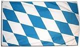 Flagge Deutschland Bayern ohne Wappen - 60 x 90 cm