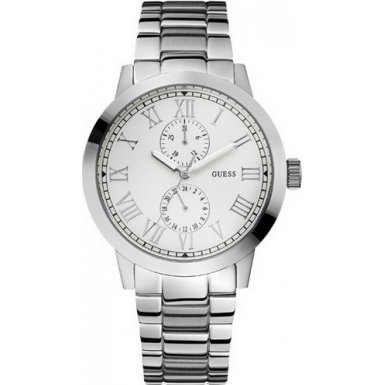 Guess Gents Clockwise Stainless Steel Bracelet Watch