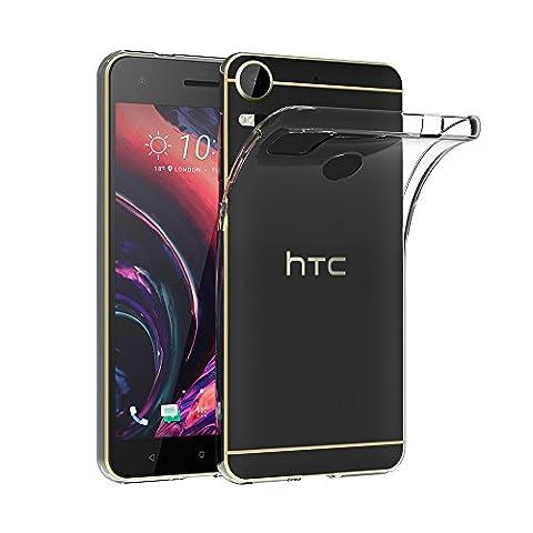 Coque HTC Desire 10 Pro, AICEK Etui Silicone Gel HTC Desire 10 Pro Housse Antichoc Desire 10 Pro Transparente Souple Coque de Protection pour HTC Desire 10 Pro(5.5 Pouces)