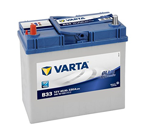 Varta Blue Dynamic B33 Batterie Voitures, 12 V 45Ah 330 Amps (En)