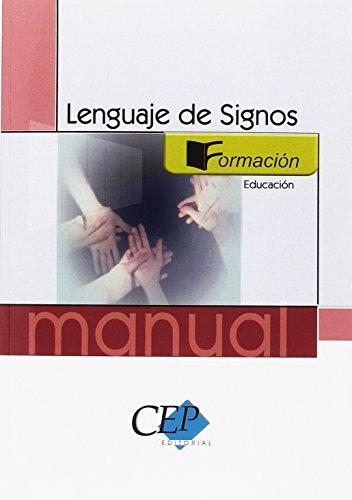 Manual lenguaje de signos. Formación