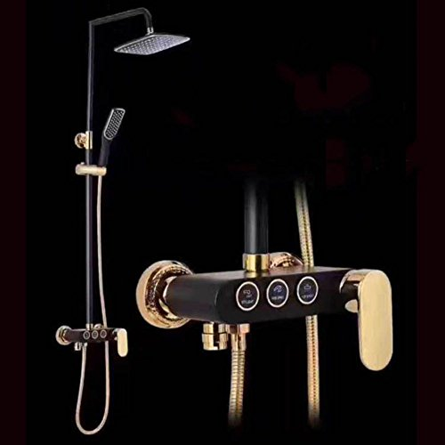 ZHFC Set de Douche Multi-Fonction de Salle de Bain Douche Pluie Douche d'eau de Douche à Main Pluie à arrosage Automatique paroi de Douche