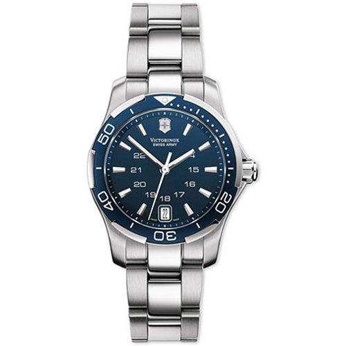 Victorinox 241307 - Reloj de Pulsera Mujer, Acero Inoxidable, Color Plata