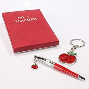 Meilleur professeur personnalisée Coffret cadeau stylo et porte clé