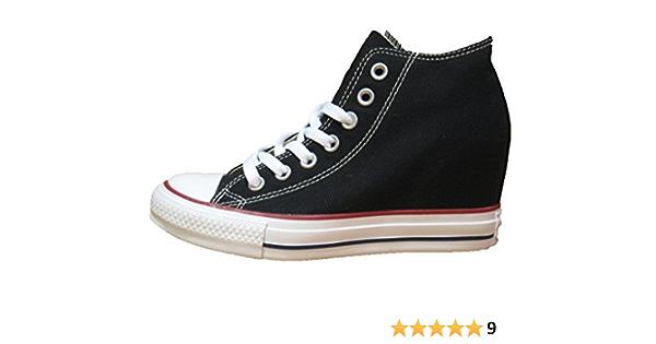 CONVERSE MID-LUX BLACK - 39 : Amazon.it: Moda