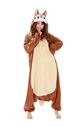 Pyjama Chip Kostüm - Disney Pyjama Kigurumi - Chip