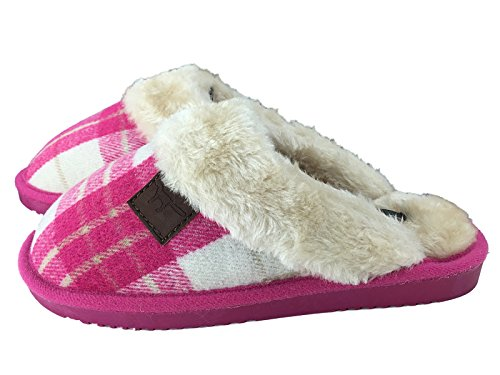 SaneShoppe - Pantofole donna Fuchsia