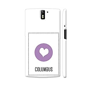 Colorpur OnePlus One Cover - I Love Columbus Case