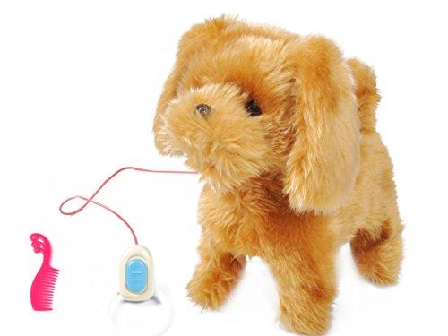 (Iso Trade Hündchen Friend Hund Haustier Real Welpe Babies Spazieren Kinder Spielzeug #1302)
