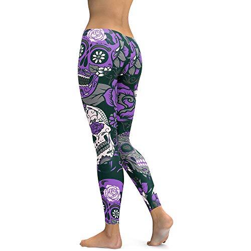 MEIbax Casual Leggings Deportes Pantalones para mujeres...