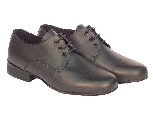 Vitiello Dance Shoes  Classic standard, Jungen Tanzschuhe Schwarz Nero Nero