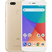 "Xiaomi MI A1 5.5"" 4GB/64GB Doble Sim, con Google Play [Version Europea] Blanco/Oro"