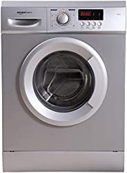 AmazonBasics 7 kg Fully-Automatic Front Load Washing Machine (Grey/Silver, In-built Heater, Self cleaning tech