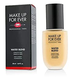 Make Up For Ever Water Blend Face & Body Foundation -  Y305 (Soft Beige) 50ml/1.69oz