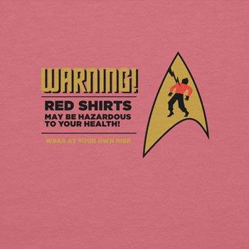 TEXLAB - Warning! Red Shirts! - Damen T-Shirt Pink