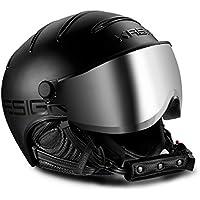 Kask Class–Casco de esquí con visera–Unisex–Black, color  - negro, tamaño 61-62