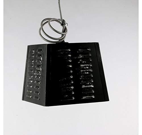 Les Authentics Lampe Suspension Vintage Noire