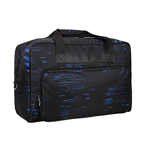 Homeyoo borsa per macchina da cucire, borsa di trasporto universale in nylon, custodia di trasporto universale imbottita per bagagli con tasche, maniglie e tracolla (blu)