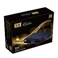 دعم طاقة V8 ذهبية DVB-S2/T2/C