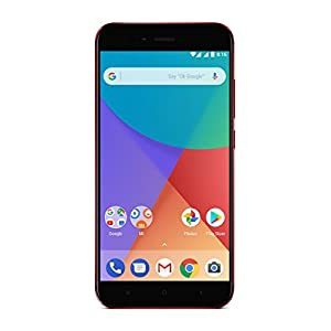 "Xiaomi Mi A1 - Smartphone 5.5 Free"" (4G, WiFi, Bluetooth, Snapdragon 625 Octa Core, 64 GB, 4 GB RAM, Android One), Red"