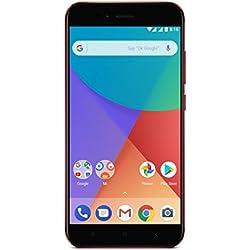 "Xiaomi Mi A1 - Smartphone libre de 5.5"" (4G, WiFi, Bluetooth, Snapdragon 625 Octa Core, 64 GB, 4 GB de RAM, Android One), Rojo"