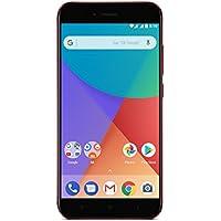 "Xiaomi Mi A1 - Smartphone libre de 5.5"" (4G, WiFi, Bluetooth, Snapdragon 625 Octa Core, 64 GB de ROM ampliable con microSD, 4 GB de RAM, cámara dual de 12 Mp, Android One), rojo [versión española]"