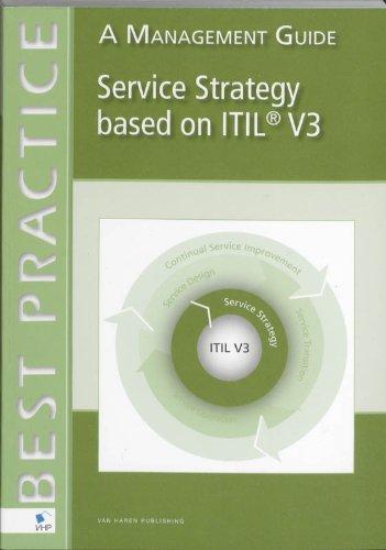 Service Strategy Based on ITIL V3: A Management Guide (Best practice) por Jan Van Bon