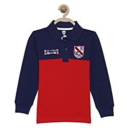 612 League Boys T-Shirt (ILW17I16014_Red_9-10 Years)