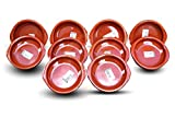 Valdearcos 0112 Spanish Terracotta Tapas Dishes / Cazuelas - 12 Centimeter Diameter