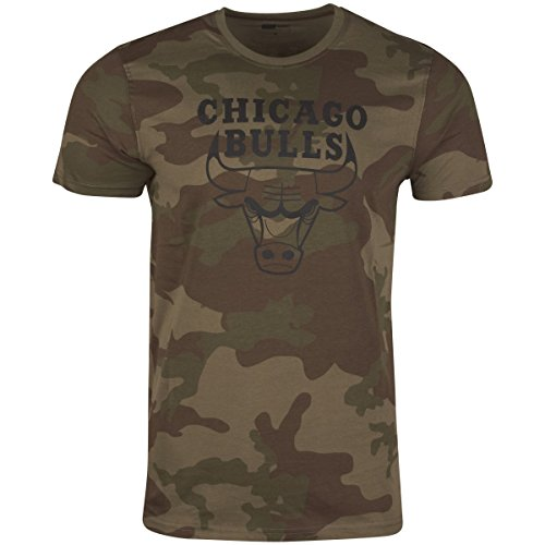 NEW ERA Chicago Bulls - T-Shirt - BNG Graphic Tee - Camouflage - XL (Graphic Basketball T-shirt)